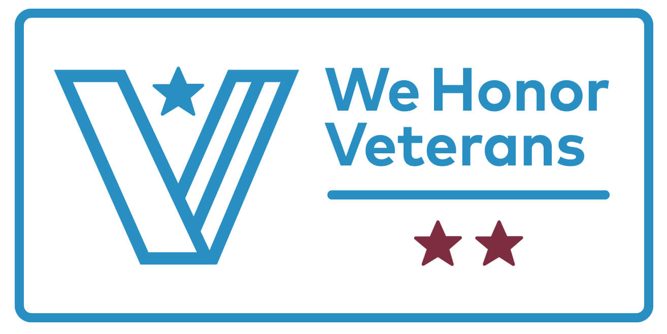 We Honor Veterans - Logo